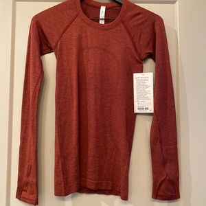 lululemon swiftly tech long sleeve size 2 NWT